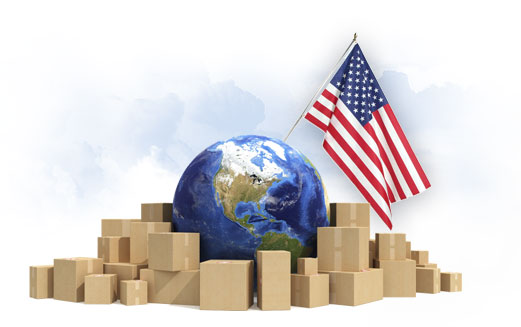 Shipping from China to USA by sea/ocean and air freight service
